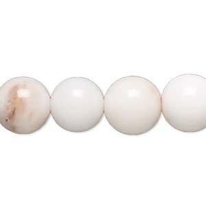 bead, snow quartz (natural), 12mm round and uneven round, d grade, mohs hardness 7. sold per 15-inch strand.