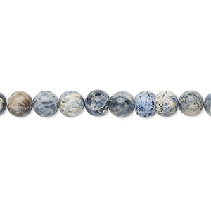 bead, sodalite (natural), 4-6mm hand-cut round, d grade, mohs hardness 5 to 6. sold per 13-inch strand.