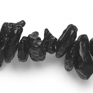 bead, tektite (waxed), small to large nugget, mohs hardness 5 to 5-1/2. sold per 16-inch strand.