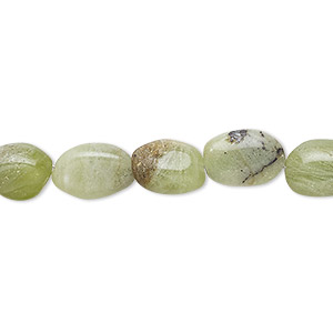 bead, vesuvianite (natural), 10x7mm-13x9mm hand-cut puffed oval, d grade, mohs hardness 6-1/2. sold per 13-inch strand.