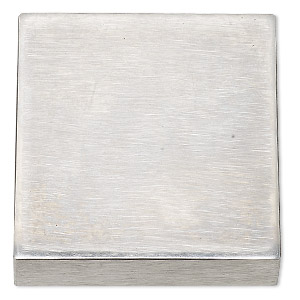 bench block, steel, 2-1/2 x 2-1/2 x 3/4 inch square. sold individually.