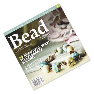 book, 10 beautiful ways to celebrate spring! by bead trends magazine. sold individually. limit 1 per order.