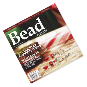 book, 20+ holiday fashion ideas by bead trends magazine. sold individually. limit 1 per order.
