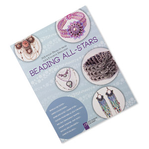 book, beading all-stars: 20 jewelry projects from your favorite designers by lark jewelry  beading. sold individually.