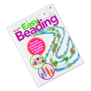 book, easy beading by beadstyle magazine. sold individually. limit 1 per order.