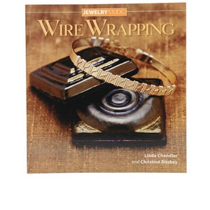 book, jewelry studio: wire wrapping by linda chandler and christine ritchey. sold individually.