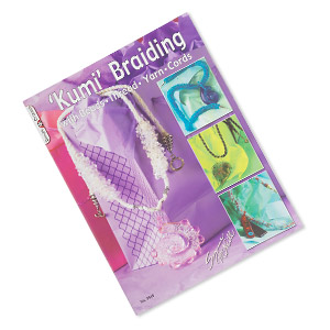 book, kumi braiding with beads, thread, yarn, cords by suzanne mcneill. sold individually.