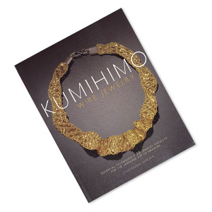 book, kumihimo wire jewelry: essential techniques and 20 jewelry projects for the japanese art of braiding by giovanna imperia. sold individually.