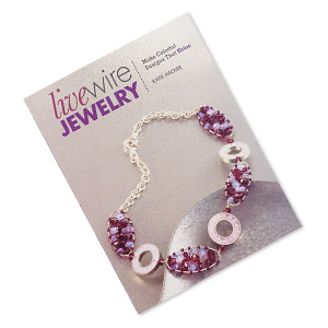 book, live wire jewelry: make colorful designs that shine by katie hacker. sold individually. limit 1 per order.