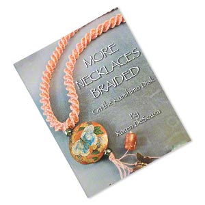 book, more necklaces braided on the kumihimo disk by karen desousa. sold individually.