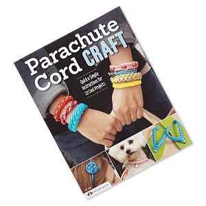book, parachute cord craft: quick  simple instructions for 22 cool projects by design originals. sold individually.