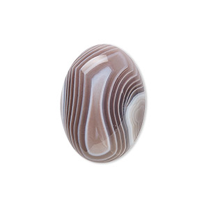 cabochon, botswana agate (natural), 25x18mm calibrated oval, b grade, mohs hardness 6-1/2 to 7. sold individually.