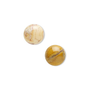 cabochon, crazy lace agate (natural), 10mm calibrated round, b grade, mohs hardness 6-1/2 to 7. sold per pkg of 6.