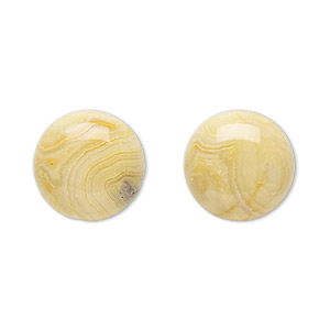 cabochon, crazy lace agate (natural), 16mm calibrated round, b grade, mohs hardness 6-1/2 to 7. sold per pkg of 2.
