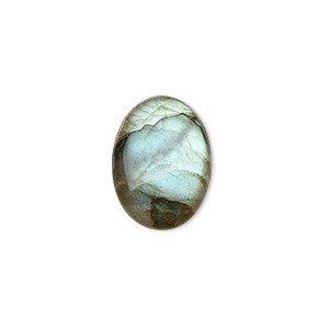 cabochon, labradorite (natural), 18x13mm calibrated oval, b grade, mohs hardness 6 to 6-1/2. sold individually.