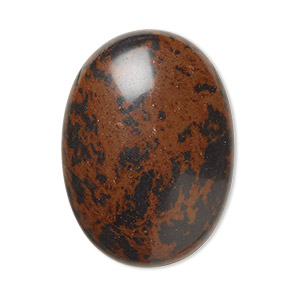 cabochon, mahogany obsidian (natural), 30x22mm calibrated oval, b grade, mohs hardness 5 to 5-1/2. sold individually.