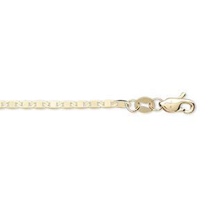 chain, 14kt gold, 1.7mm anchor, 16 inches with lobster claw clasp. sold individually.