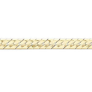 chain, 14kt gold-filled, 2mm herringbone, 24 inches with springring clasp. sold individually.