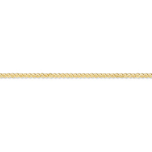chain, gossamer™, 14kt gold-filled, 1.2mm serpentine, 24 inches with springring clasp. sold individually.