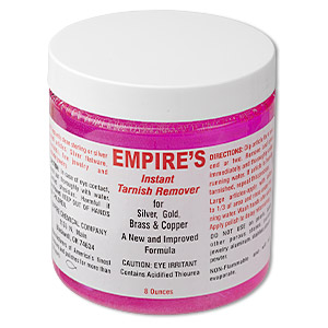 cleaner, empires instant tarnish remover. sold per 8-ounce jar.