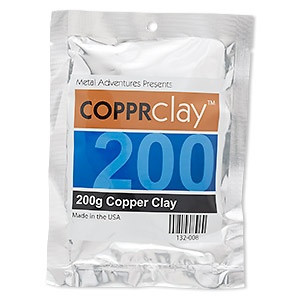 copprclay™, 1700-degree formula. sold per 200-gram pkg.