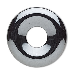 focal, hemalyke™ (man-made), 35mm round donut. sold per pkg of 2.