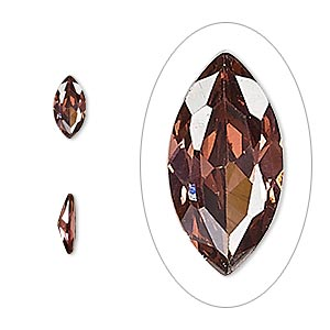 gem, cubic zirconia, alexandrite purple, 8x4mm faceted marquise, mohs hardness 8-1/2. sold per pkg of 2.