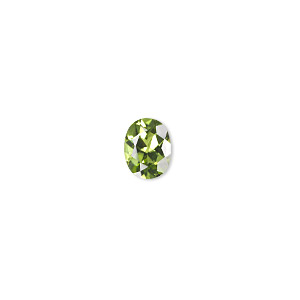 gem, peridot (natural), 9x7mm faceted oval, a grade, mohs hardness 6-1/2 to 7. sold individually.
