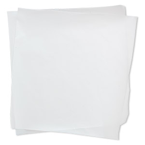 non-stick art sheet, teflon, white, 12x6-inch rectangle. sold individually.