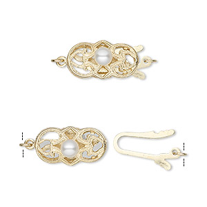 Fishhook Clasps Karat Gold Gold Colored