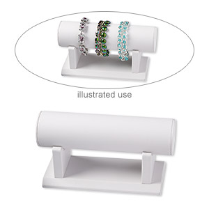 Bracelet Displays Leatherette Whites