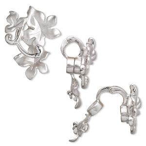 Specialty Bails Sterling Silver Silver Colored