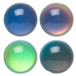Cabochons Acrylic Multi-colored