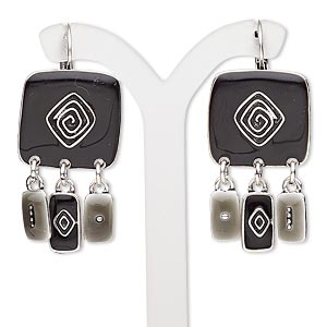 Leverback Earrings Blacks Everyday Jewelry