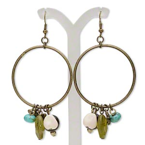 Fishhook Earrings Everyday Jewelry H20-5743JD
