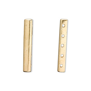 Spacer Bars Vermeil Gold Colored