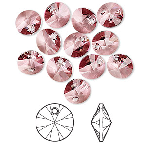 Drops Swarovski Pinks