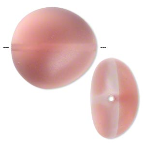 Beads Epoxy/Resin Pinks