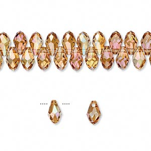 Drops Swarovski Copper