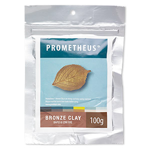prometheus bronze clay, rapid and low fire. sold per 100-gram pkg.