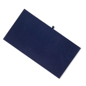 tray insert, velveteen, royal blue, 14 x 7-3/4 inch pad. sold individually.
