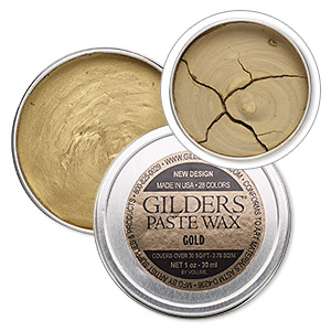 wax paste, gilders paste, gold. sold per 1-ounce canister.