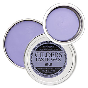 wax paste, gilders paste, violet. sold per 1-ounce canister.