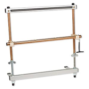 weaving / tapestry loom, mirrix zach, aluminum / steel / copper / wood, 22 inches with 40x19-inch looming length. sold individually.