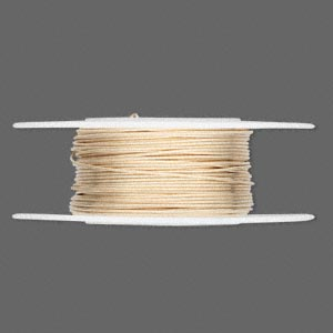 wire, 12kt gold-filled, half-hard round, 22 gauge. sold per 25-foot spool.