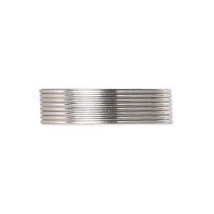 wire, argentium silver, full-hard, round, 20 gauge. sold per pkg of 25 feet.