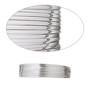 wire, stainless steel, soft, round, 22 gauge. sold per pkg of 10 meters.