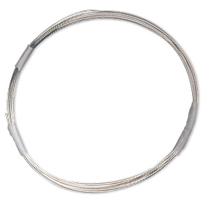 wire, sterling silver-filled, half-hard, round, 26 gauge. sold per 100-foot spool.